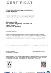 1.1 - Certificat ISO 9001 - 2015 TUV Epta DAAS -ro