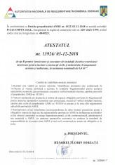 1 - ANRE_ATESTAT NR.13926_02.12.2018_PTR PROIECTARE SI EXECUTARE INSTALATII EXTERIOARE_INTERIOARE-1